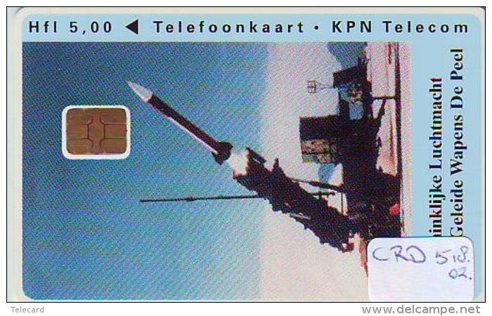 Nederland CHIP TELEFOONKAART * CRD-518.02 * ARMEE AIRFORCE * Telecarte A PUCE PAYS-BAS * Niederlande ONGEBRUIKT * MINT - Armada