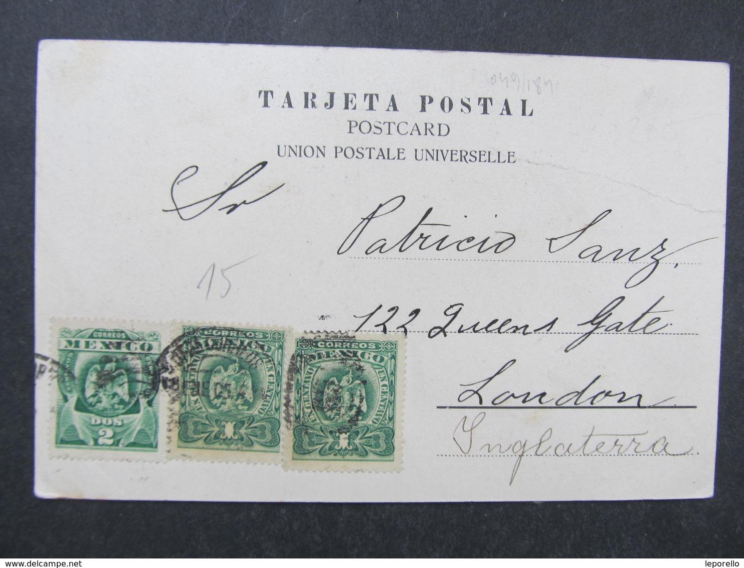AK ZACATECAS Ca.1900 Mexico //  D*32343 - Mexiko
