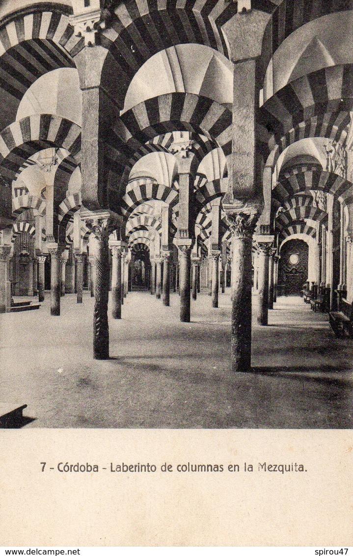 CPA CORDOBA - LABERINTO DE COLUMNAS EN LA MEZQUITA - Córdoba