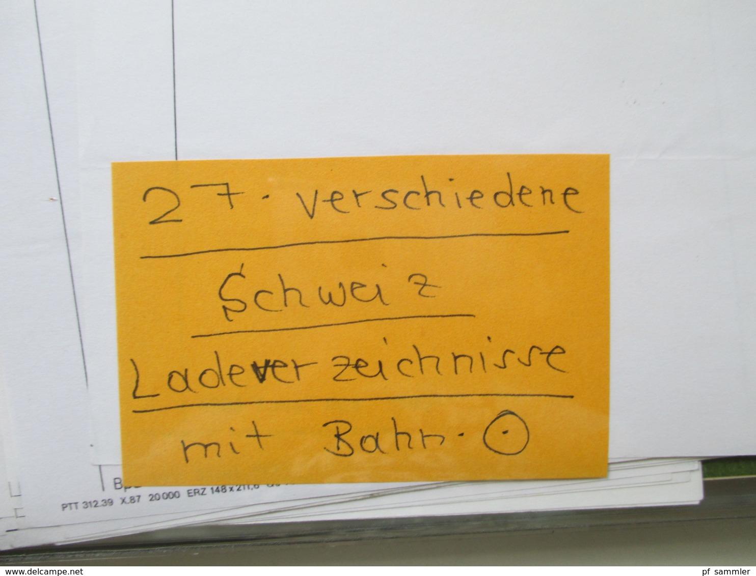 Motivsammlung Verkehr & Transport Eisenbahnen / Züge. Belege / SST Usw. Viel Material In 4 Alben. Stöberposten!! - Eisenbahnen