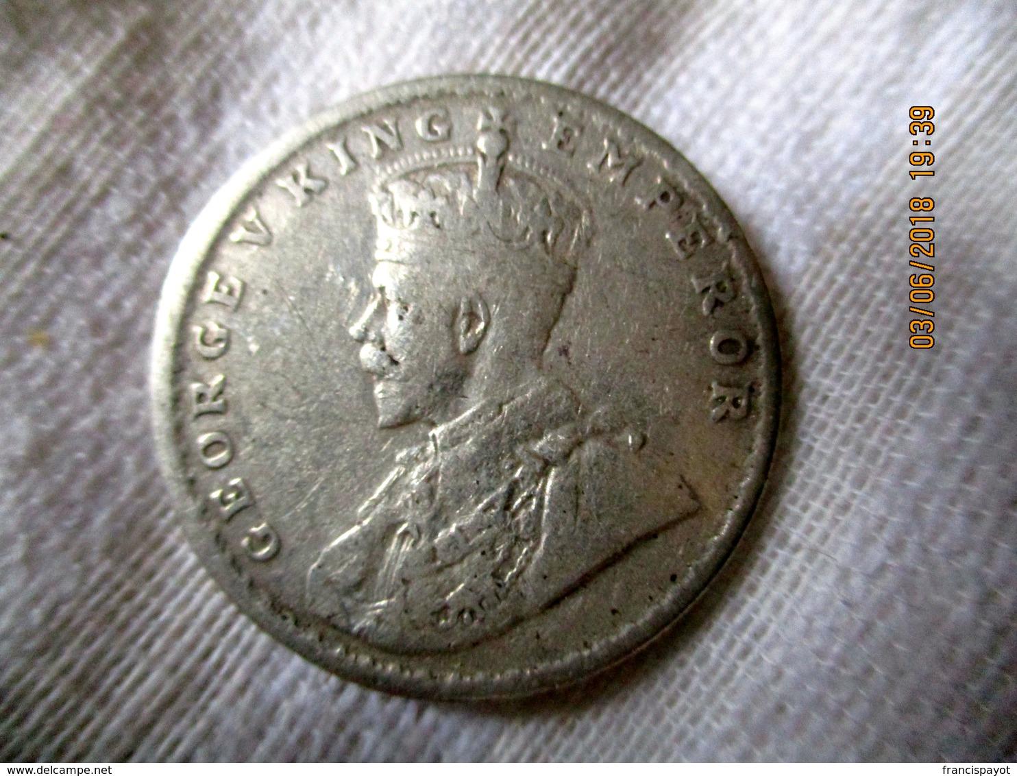 India: 1 Rupee 1919 - Inde