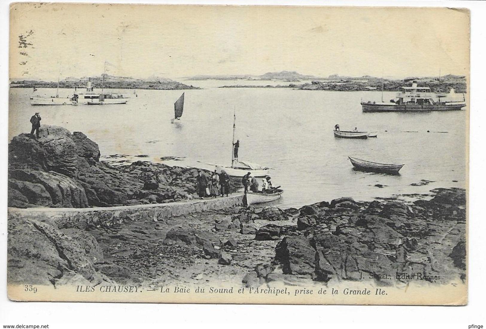 Iles Chausey - La Baie Du Sound Et L'archipel - France
