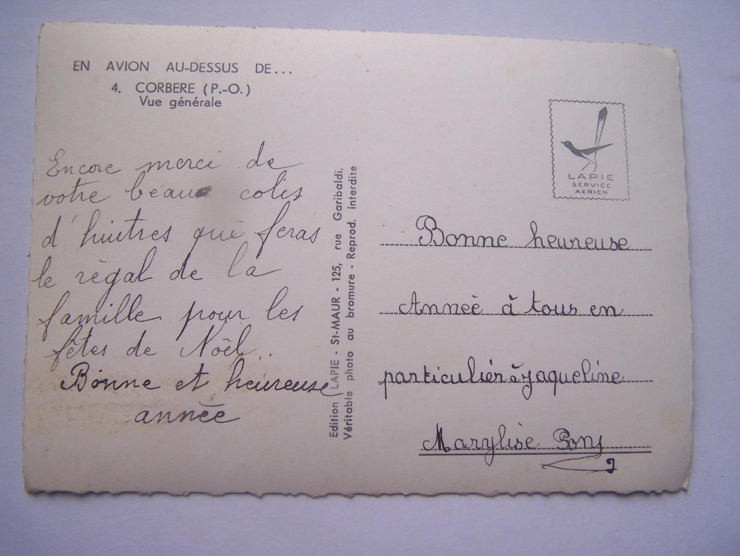 Sp1---corbere---vue Generale----voir Recto Verso - France