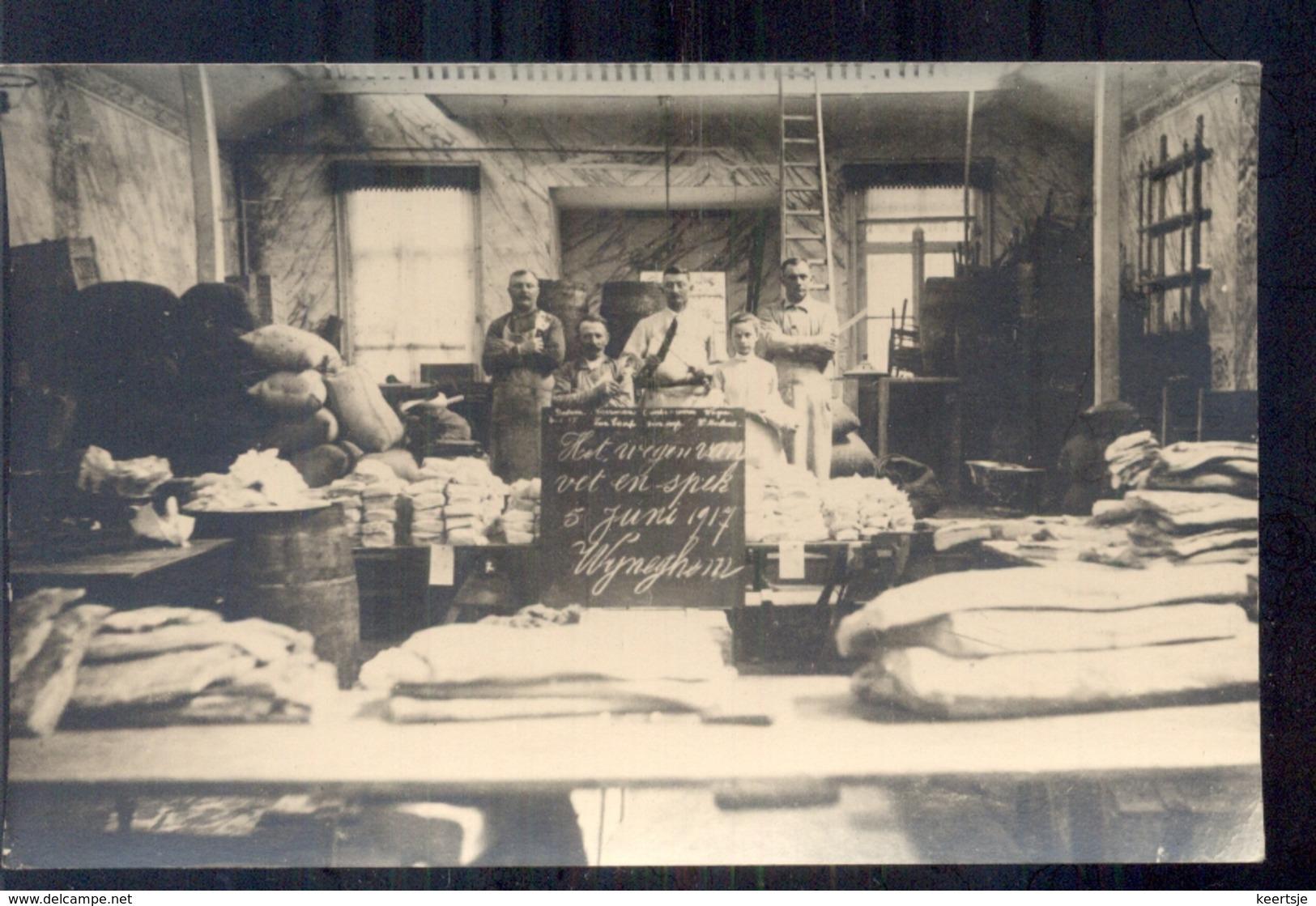 Belgie - Wyneghem Wijneghem - Slagerij -   -  1917 - Belgique