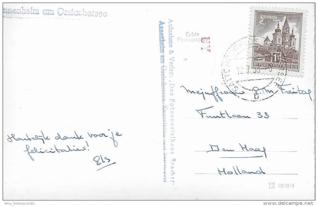 AK 0921  Annenheim Am Ossiachersee - Verlag Brachtl Um 1958 - Ossiachersee-Orte
