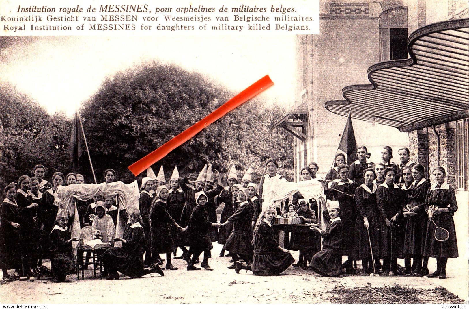 Institution Royale De Messines - Pour Orphelins De Militaires Belges. Koninklijk Gesticht Van MESSEN Voor Weesmeisjes - Messines - Mesen