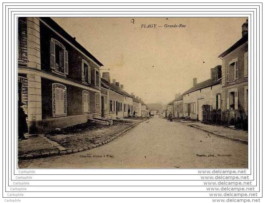 77 - FLAGY - Grande Rue - Non Classés