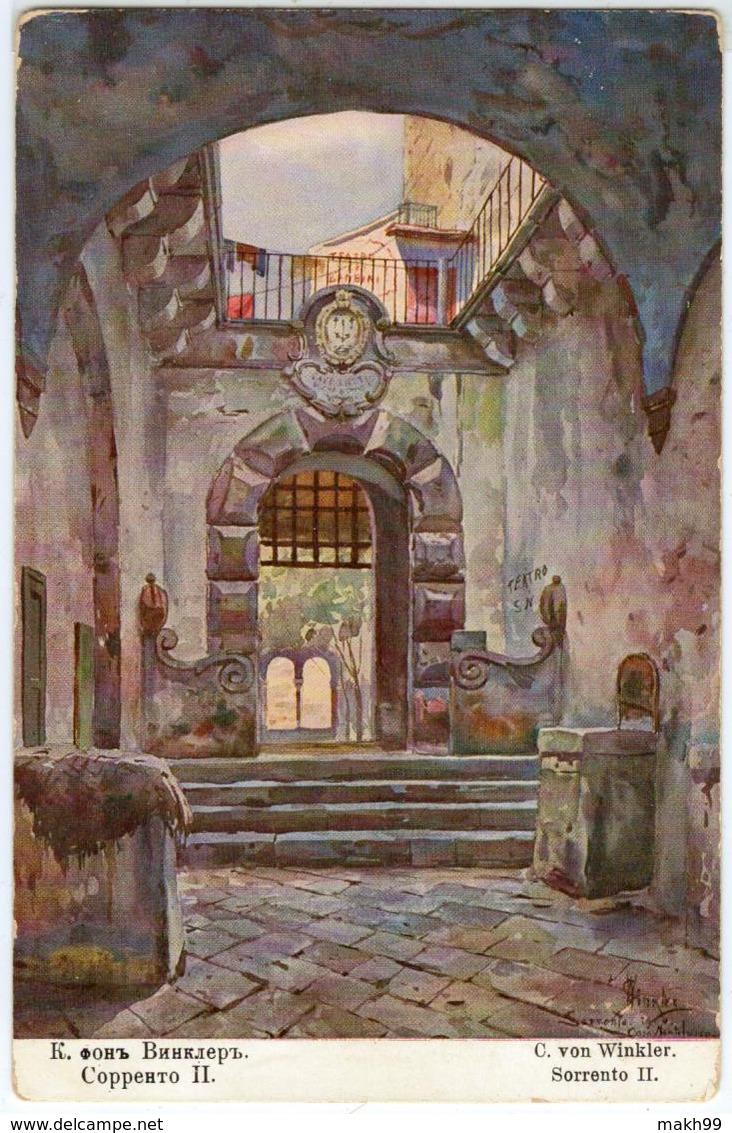 C. Von WINKLER - Sorrento II - Pittura & Quadri