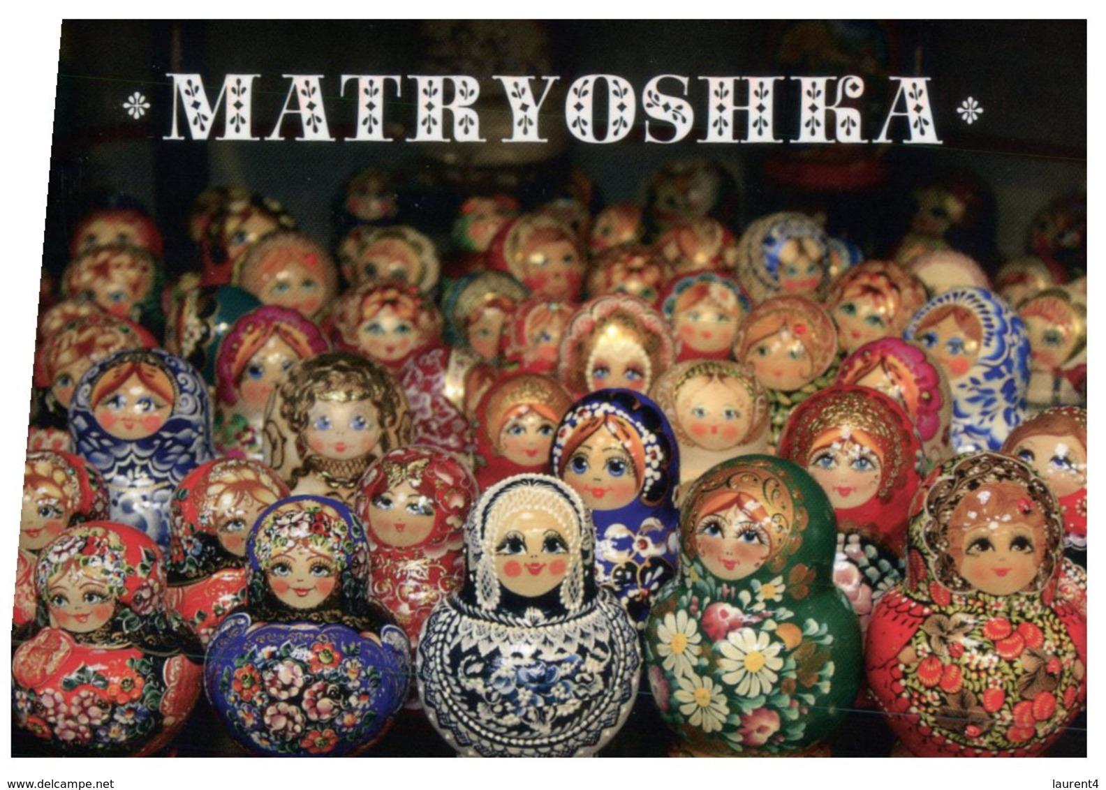 (654) Russia - Dolls - Jeux Et Jouets