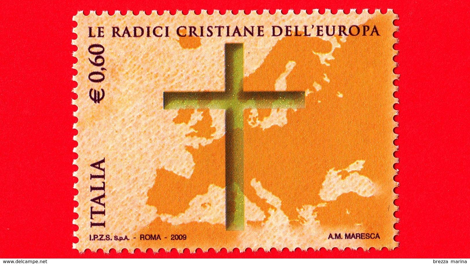Nuovo - MNH - ITALIA - 2009 - Radici Cristiane Dell'Europa - Europa E Croce - 0,60 - 6. 1946-.. Republik