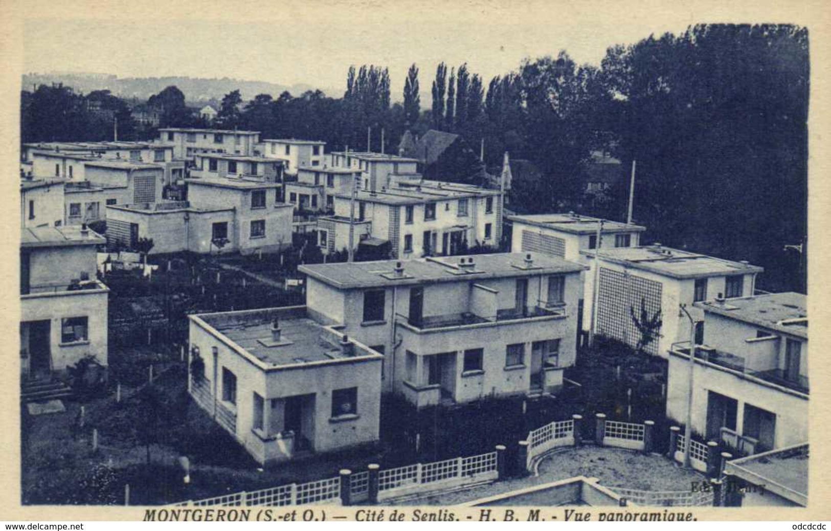 MONTGERON Cité De Senlis H.B.M. Vue Panoramique RV - Montgeron