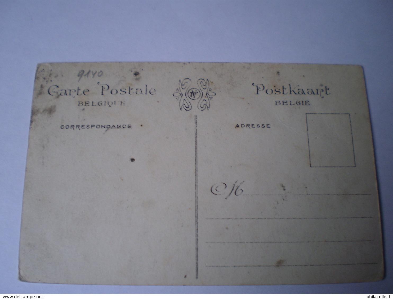 """Temse - Temsche - Tamise // Concours D'Hydro - Aeroplanes 7-16 Sept 1912 // 19?? Kaart Vlekkig - Staat Zie Foto""""s - Temse"""