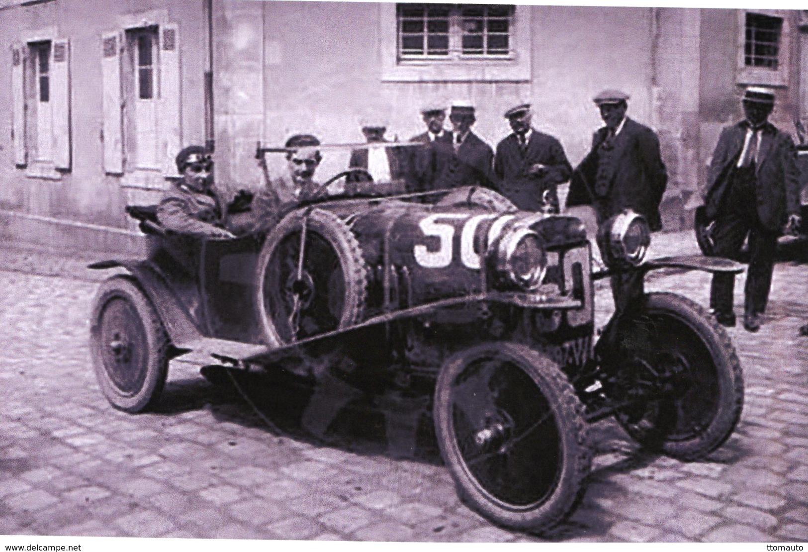 24 Heures Du Mans 1924  -  Ariès CC2 10cv  -  Pilotes: Louis Rigal/Roger Delano   -  15x10 PHOTO - Le Mans