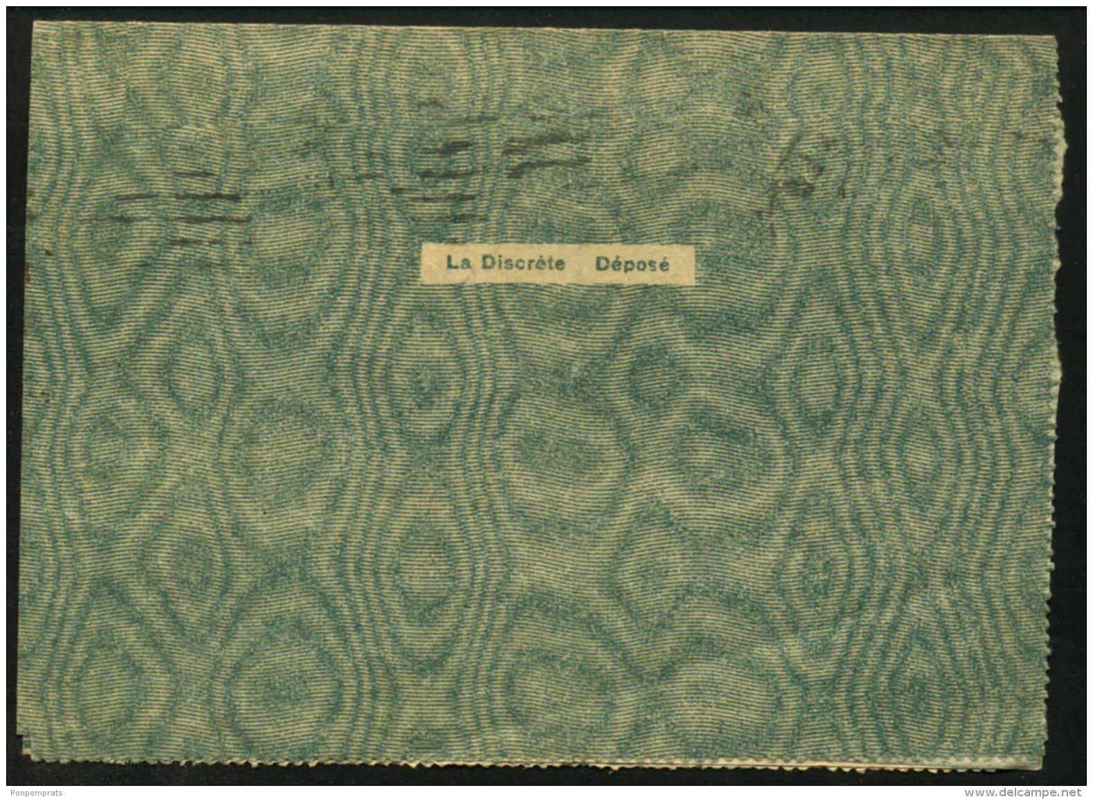 Pli De Franchise Militaire De La Guerre De 1914-18 Oblt Flamme De GRENOBLE - Cartes De Franchise Militaire