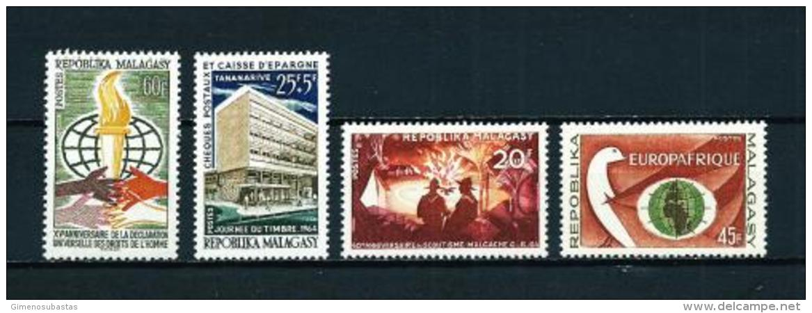 Madagascar  Nº Yvert  393/6  En Nuevo - Madagascar (1960-...)
