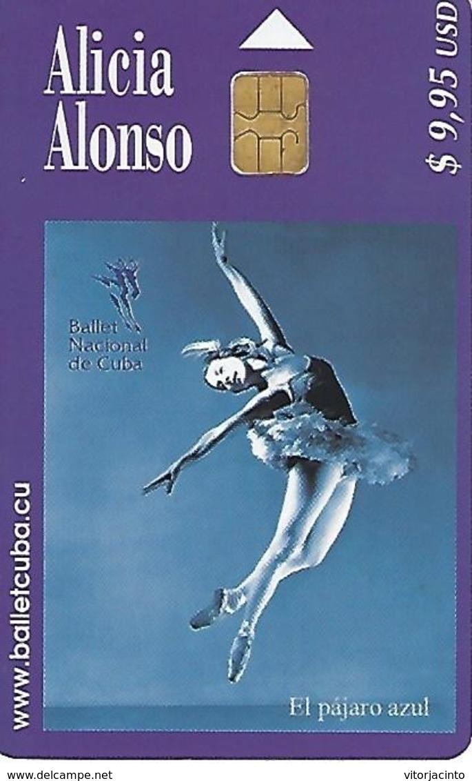 ETECSA - International Callings Phonecard - $9,95 USD - Alicia Alonso - Cuba - Cuba