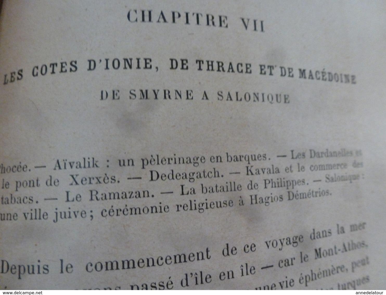 1897 CHEZ LES GRECS DE TURQUIE (Smyrne,Lesbos,Lemnos,Thasos,Mont Athos); Les Massacres En Arménie;etc -par L. De Launay - Books, Magazines, Comics
