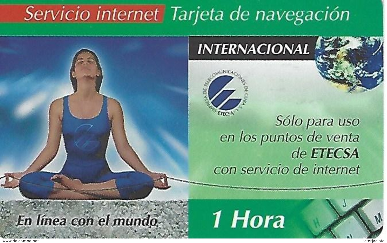 Etecsa Internet  Service - 1 Hour - Cuba - Cuba