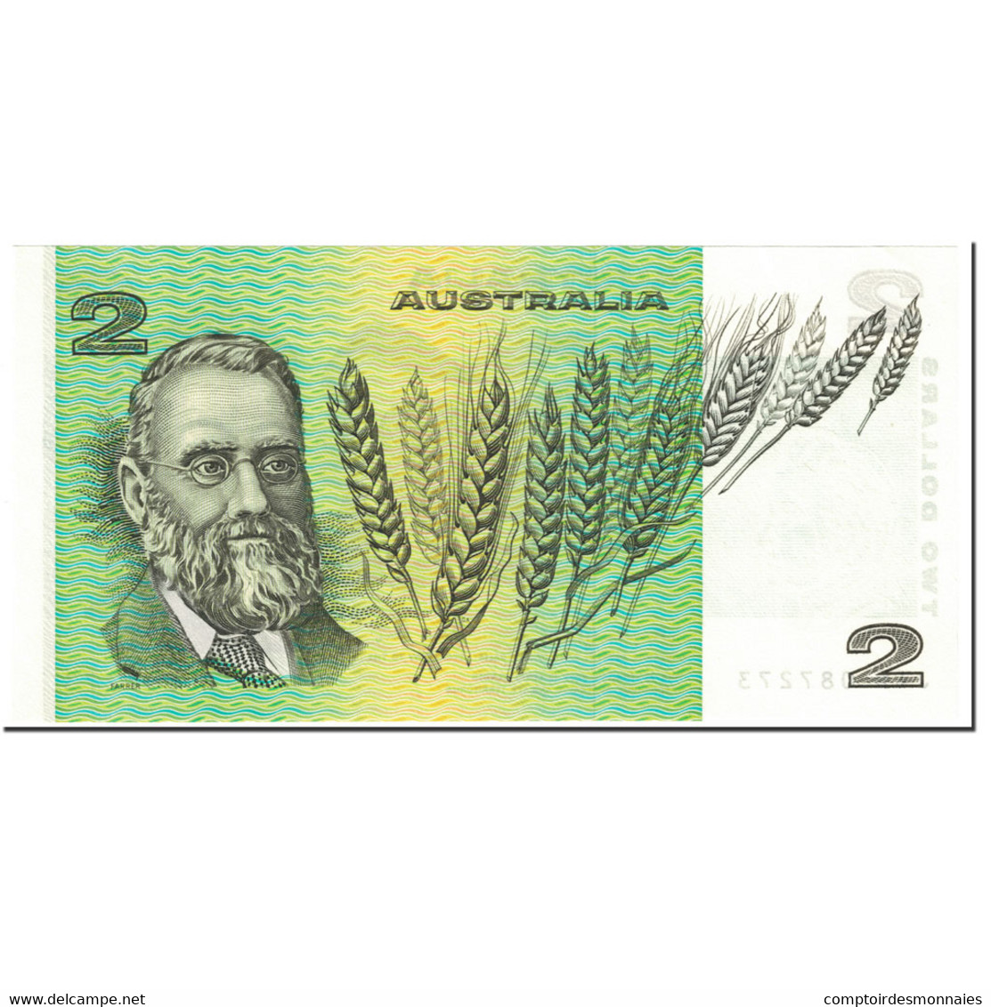 Billet, Australie, 2 Dollars, 1979, Undated (1979), KM:43c, NEUF - 1974-94 Australia Reserve Bank (paper Notes)
