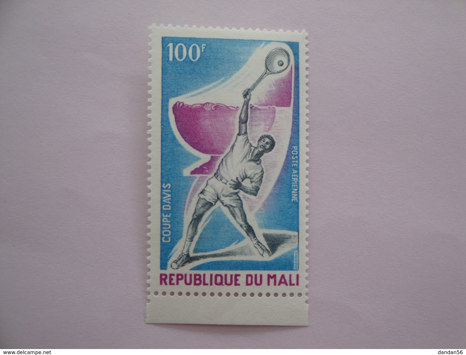 1971 Mali Yvert  PA116 ** Sport Tennis Scott Xxx Michel 1001/8 SG Xx - Mali (1959-...)