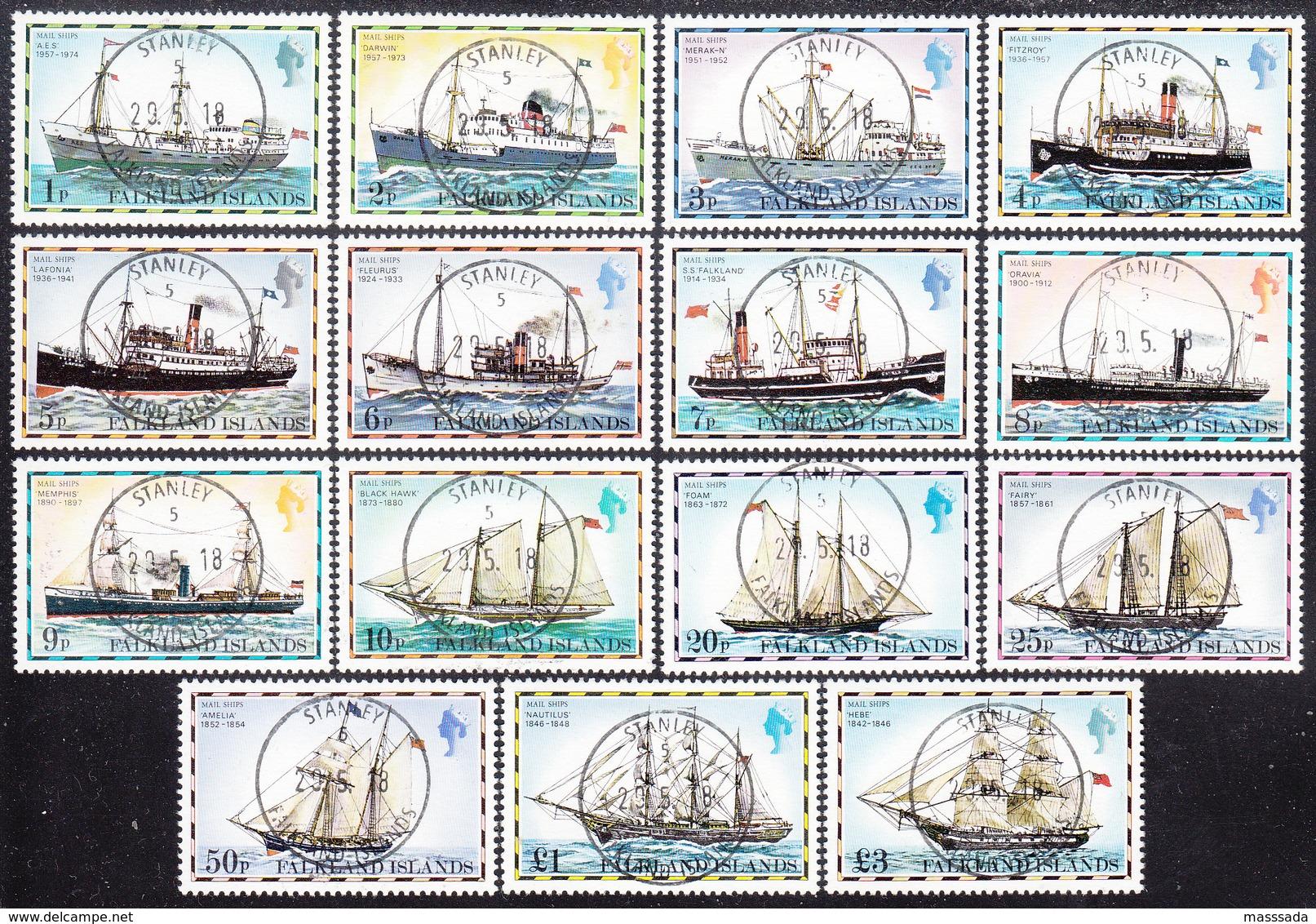 FALKLAND ISLANDS  Michel  255/69 I  Very Fine Used - Falkland