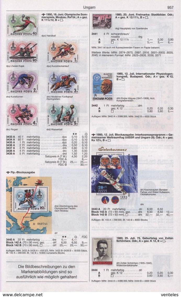 Hungary 16.06.1980 Mi # 3433-39B Bl 142B Moscow Summer Olympics, IMPERF MNH OG - Verano 1980: Moscu
