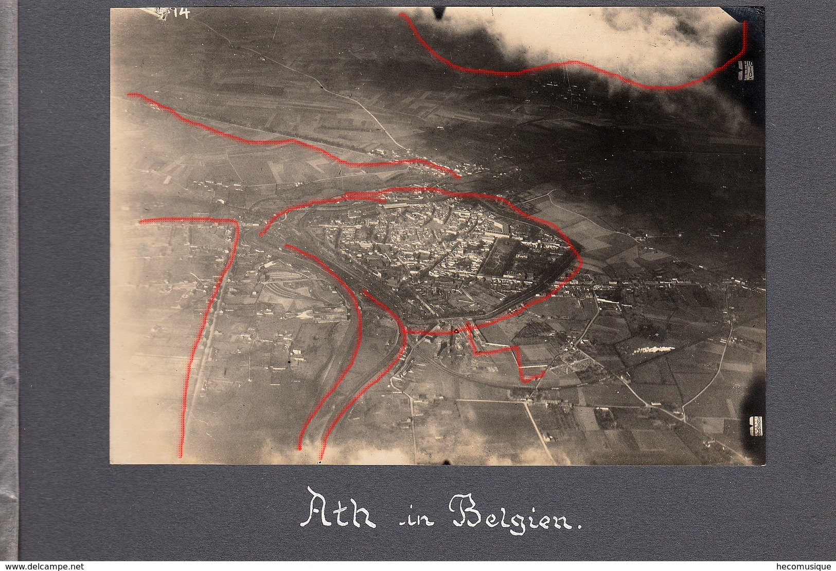 ATH- Belgique - Vue Aerienne Guerre 14 - Belgium