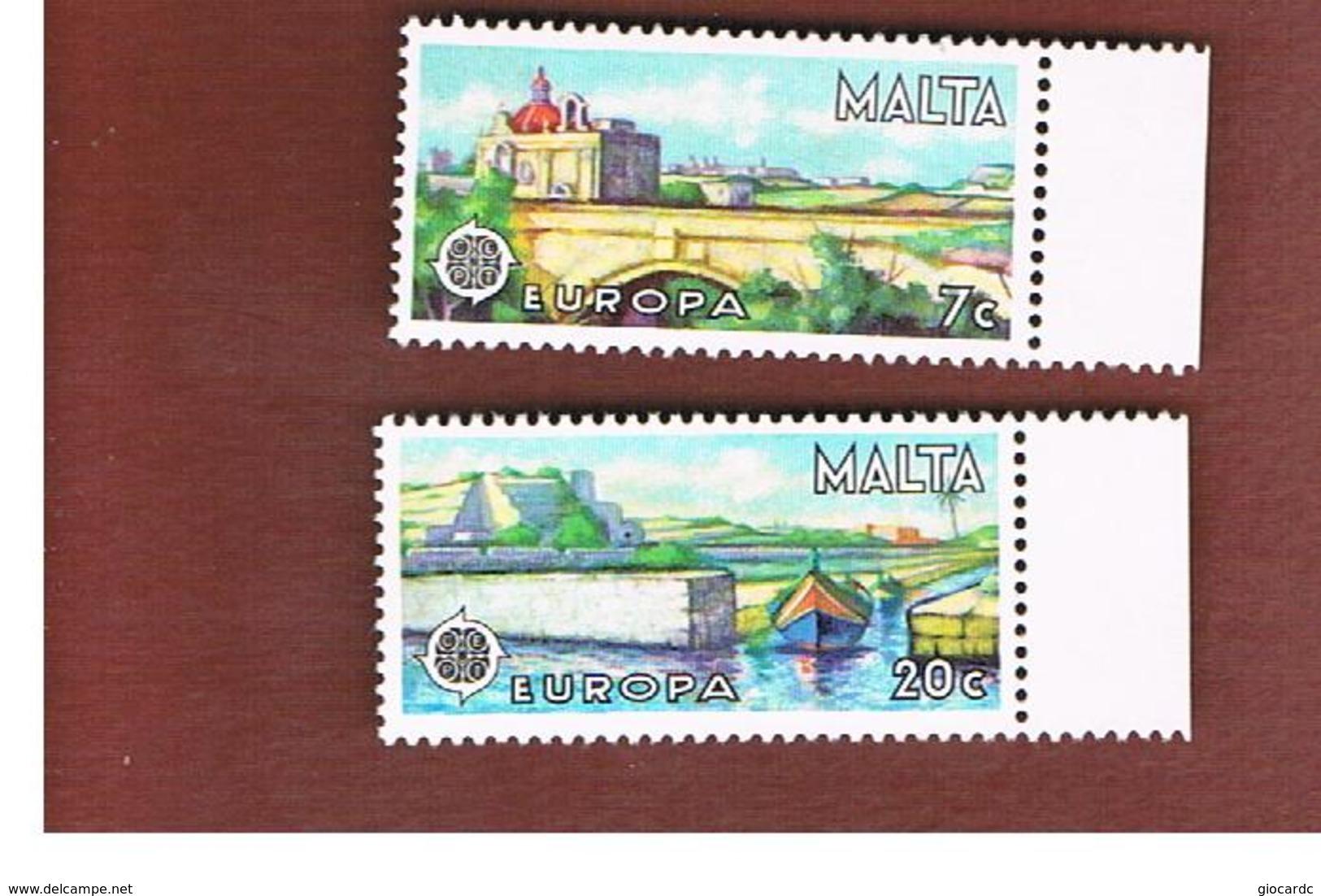 MALTA   - 1977 EUROPA     -     MINT** - 1977