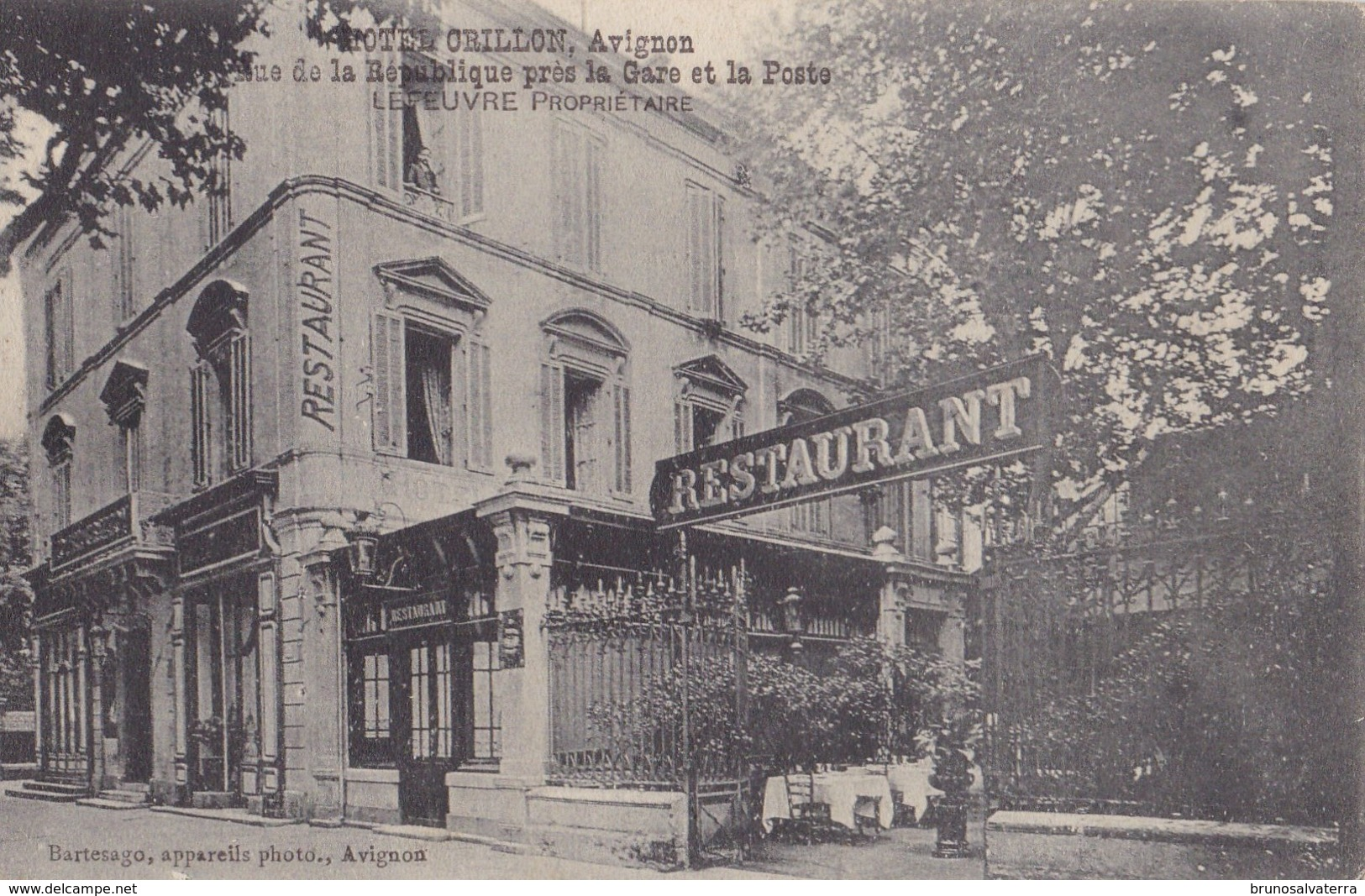 AVIGNON - Hôtel Crillon - Avignon