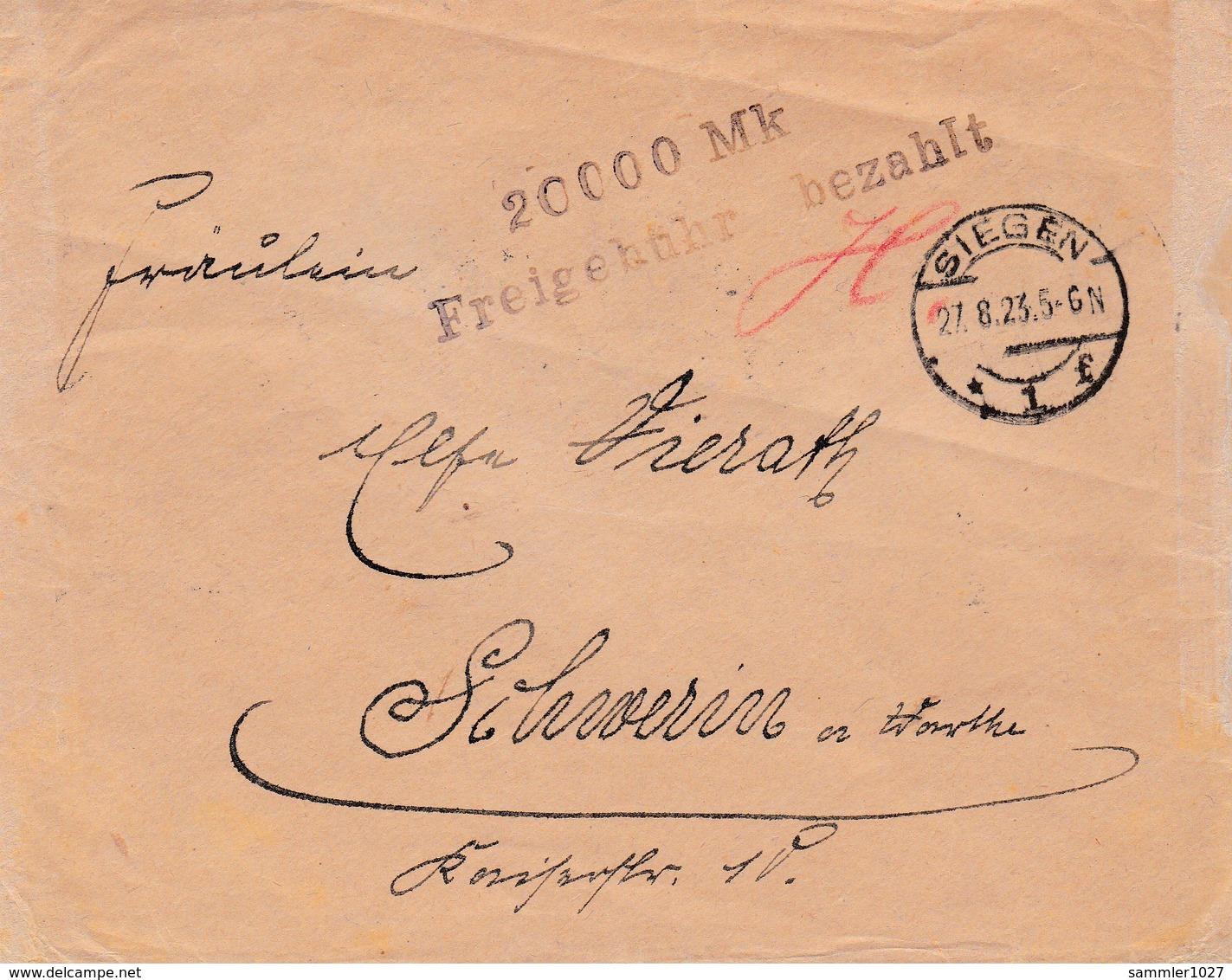 DR Brief - Rückseite Mit Rechenkunststück - Covers & Documents