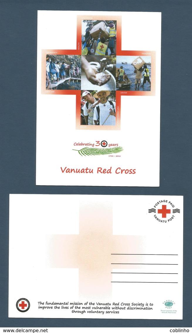 VANUATU - Carte Postale / Post Card - Croix Rouge - Red Cross 2013 - Vanuatu Post - Vanuatu (1980-...)