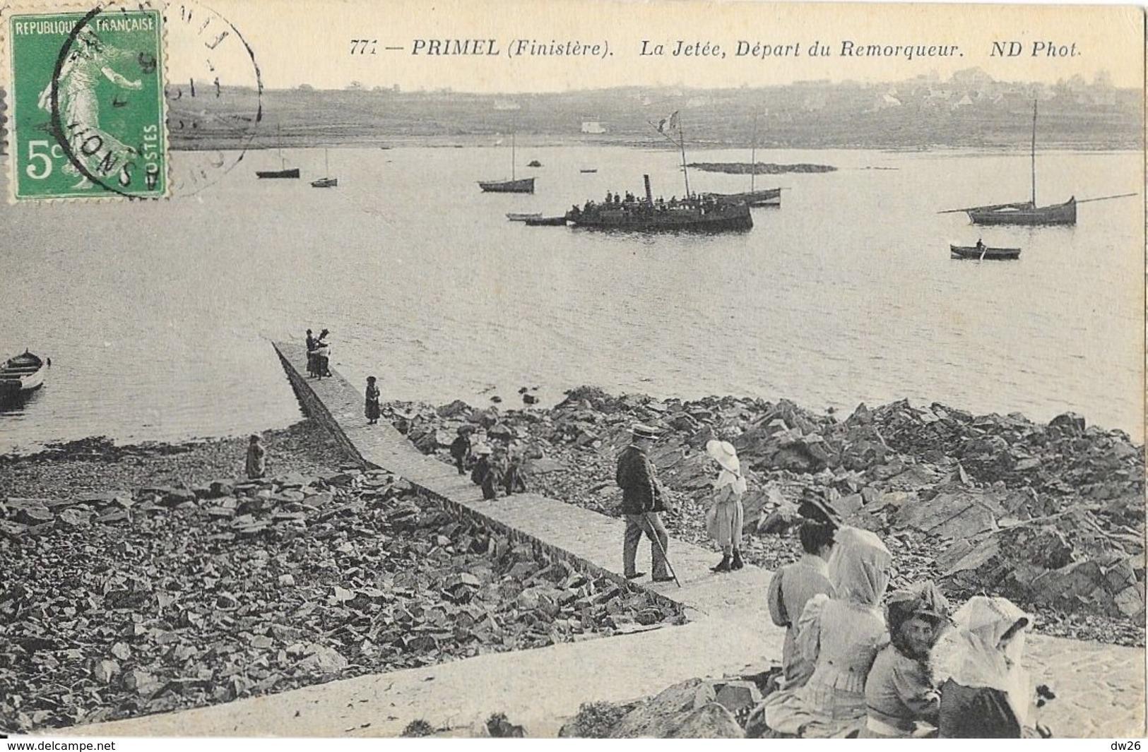 Primel (Finistère) - La Jetée, Départ Du Remorqueur - Carte ND Phot. N° 771 - Primel