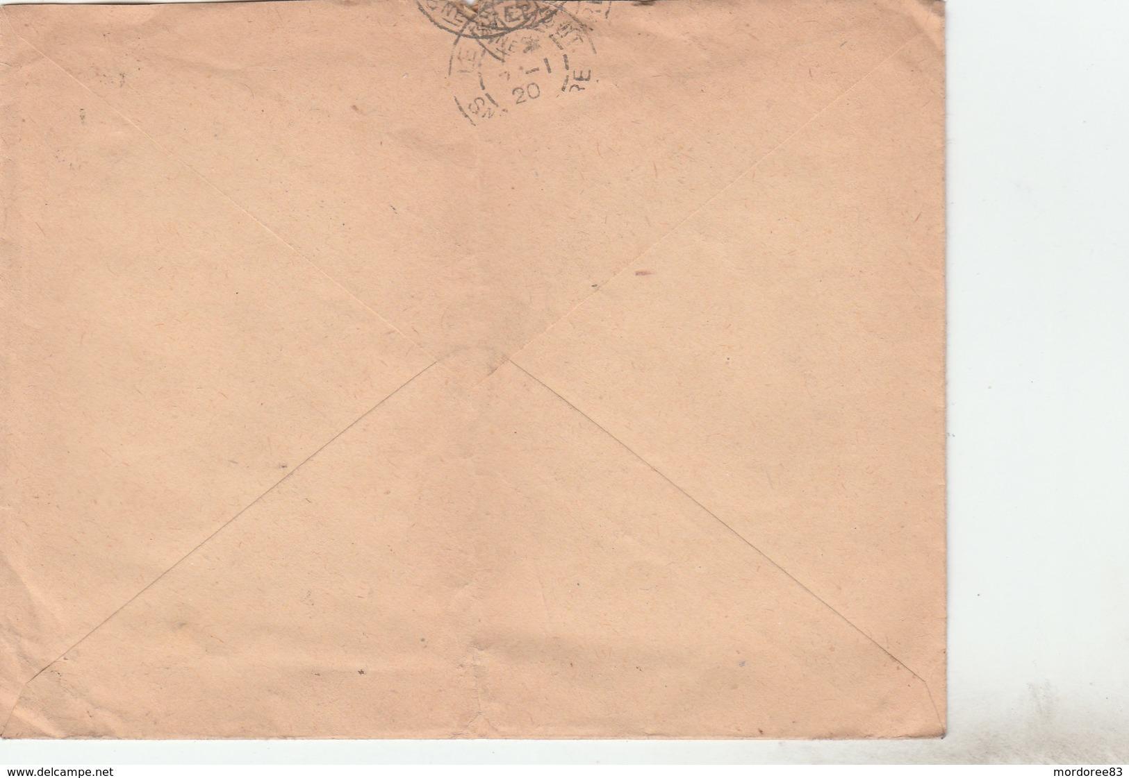 SEMEUSE 15C SUR ENV ILLUSTREE ELEVAGE SAINT MICHEL GOUJON LANGEAIS 5/1/20 POUR LE CREUSOT -                      TDA269A - Marcophilie (Lettres)