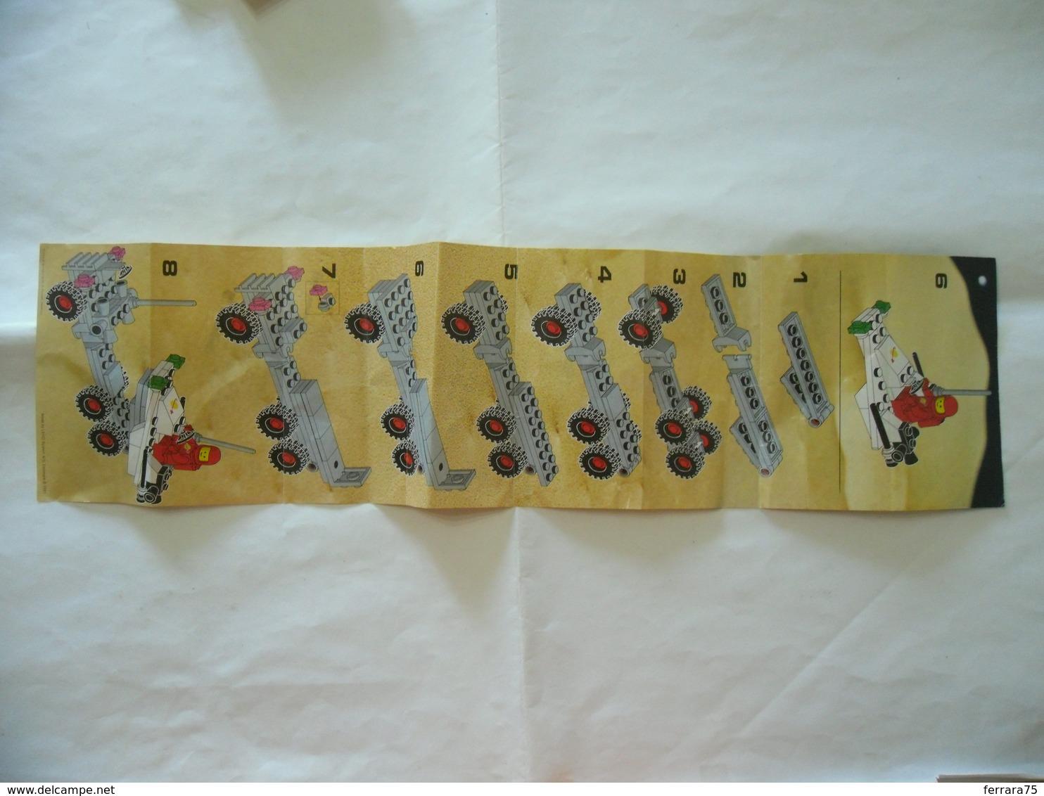 ISTRUZIONI MANUALE INSTRUCTION LEGO LEGOLAND 6870 - Kataloge
