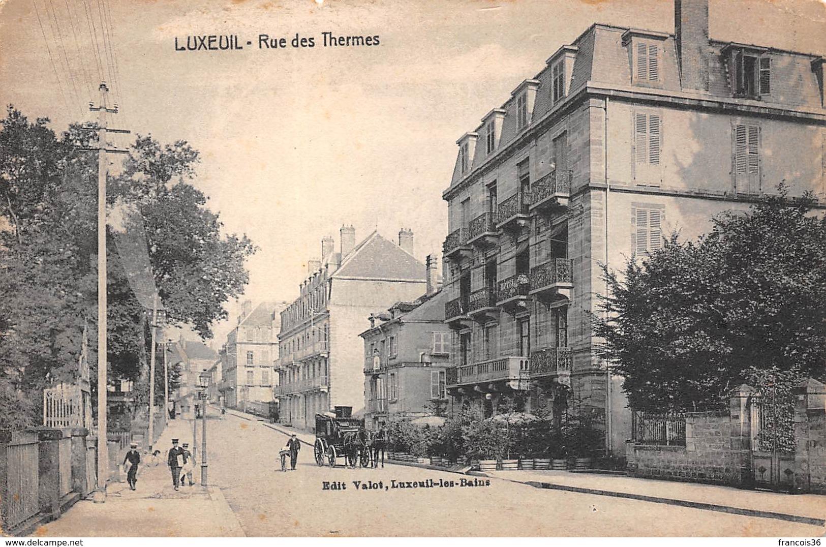 Luxeuil Les Bains (70) - Rue Des Thermes - Luxeuil Les Bains