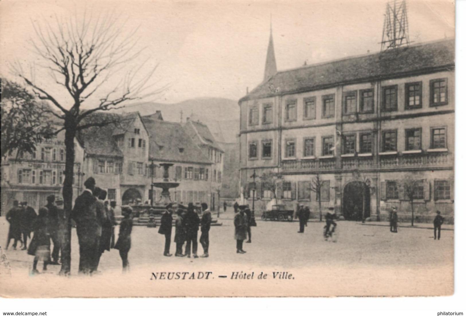 NEUSTADT  Hôtel De Ville - Saarpfalz-Kreis