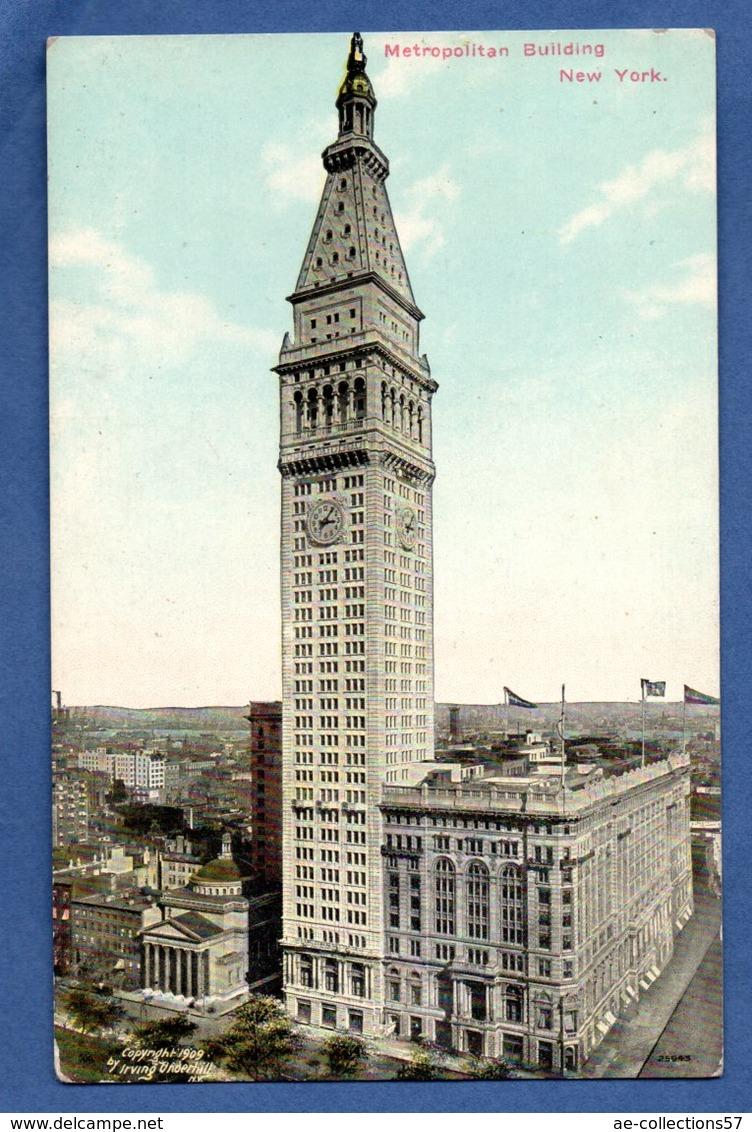 New York  --  Métropolitan Bulding - - New York City
