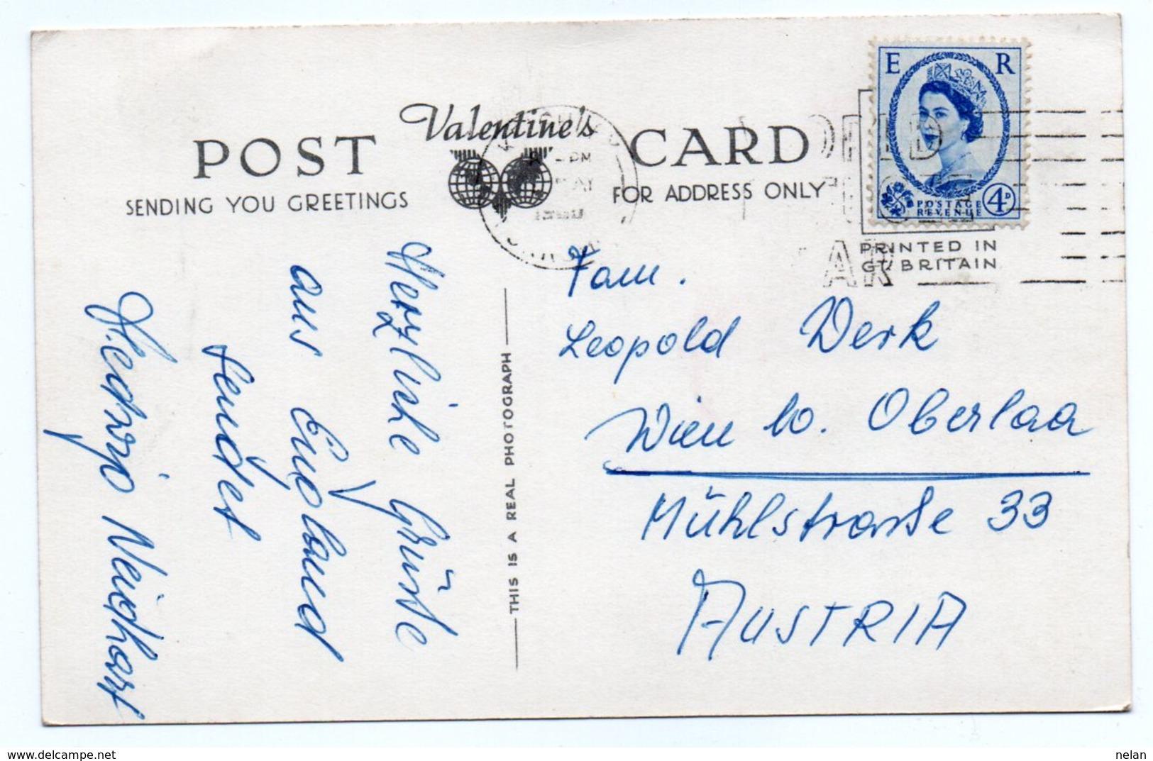 KEIGHLEY-1950- VIAGGIATA-REAL PHOTO - Bradford