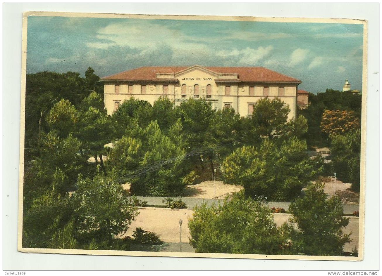 RIMINI HOTEL PARCO - 1956 LISTA COLAZIONE - FG - Rimini
