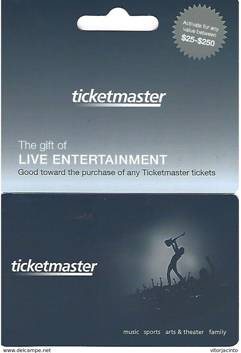 Target Giftcard - Ticketmaster - Gift Cards