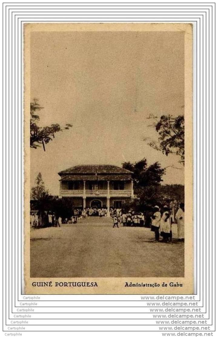 GUINE PORTUGUESA - Administracao De Gabu - Guinea-Bissau