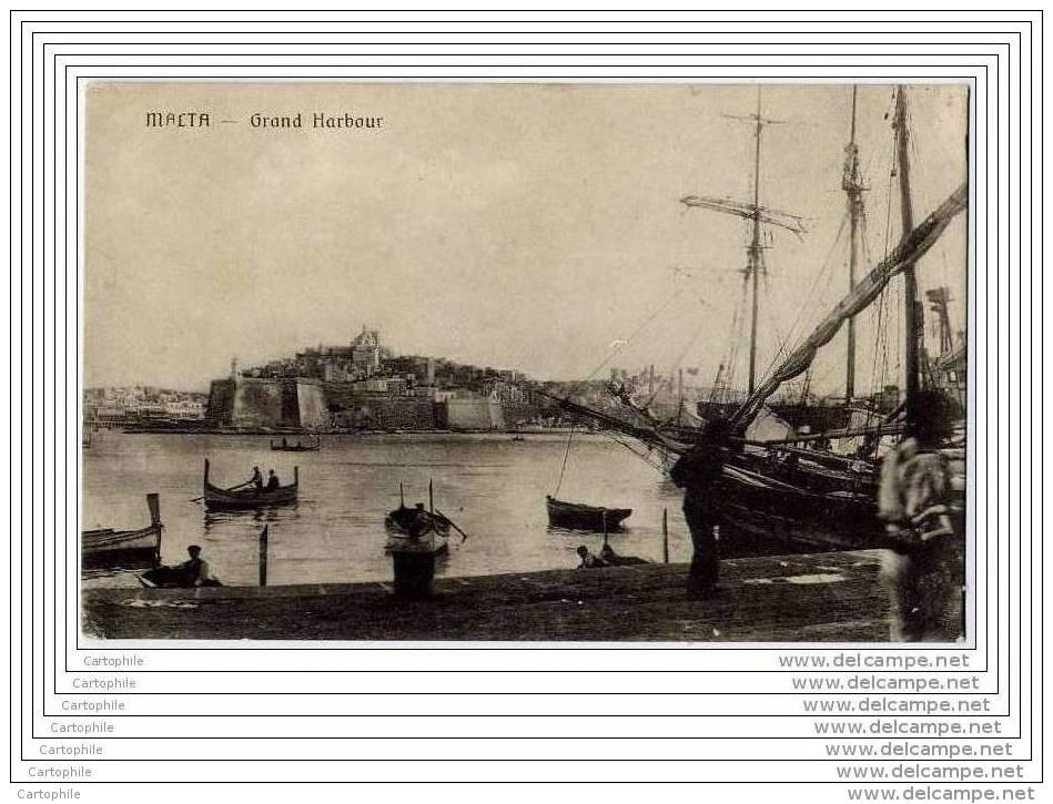MALTE MALTA - Grand Harbour (voilier) - Malte