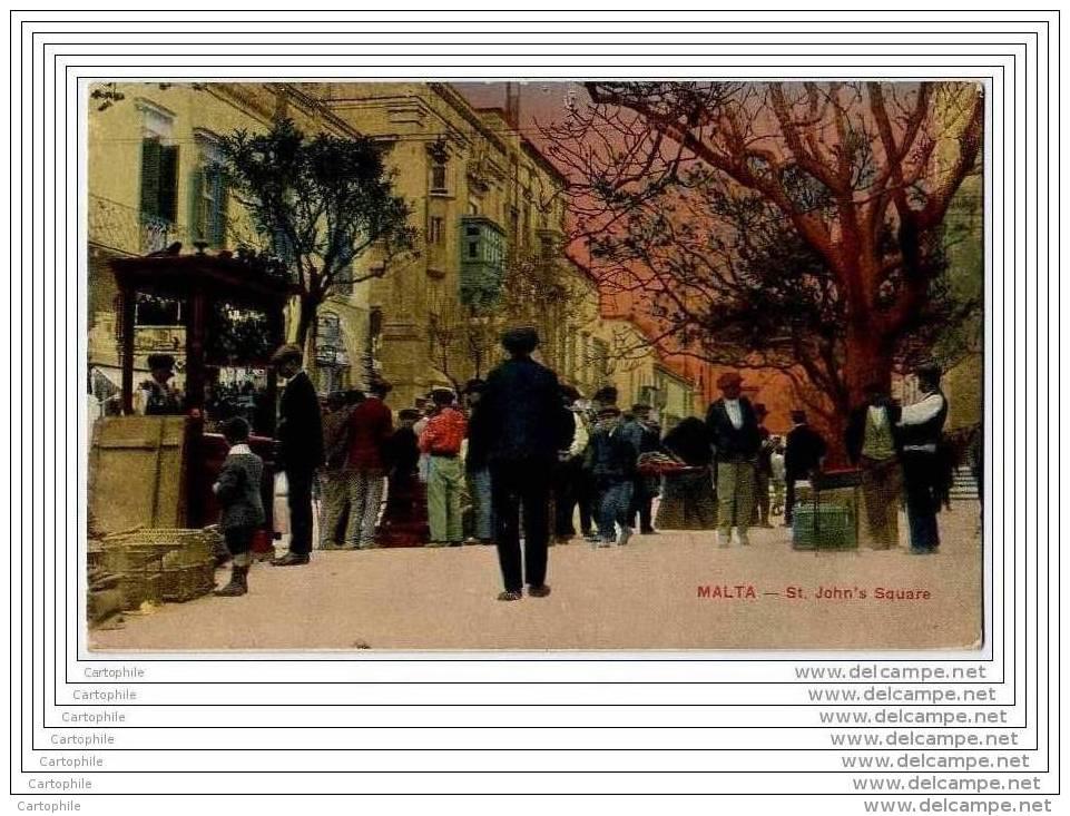MALTE MALTA - St. John S Square - Malte