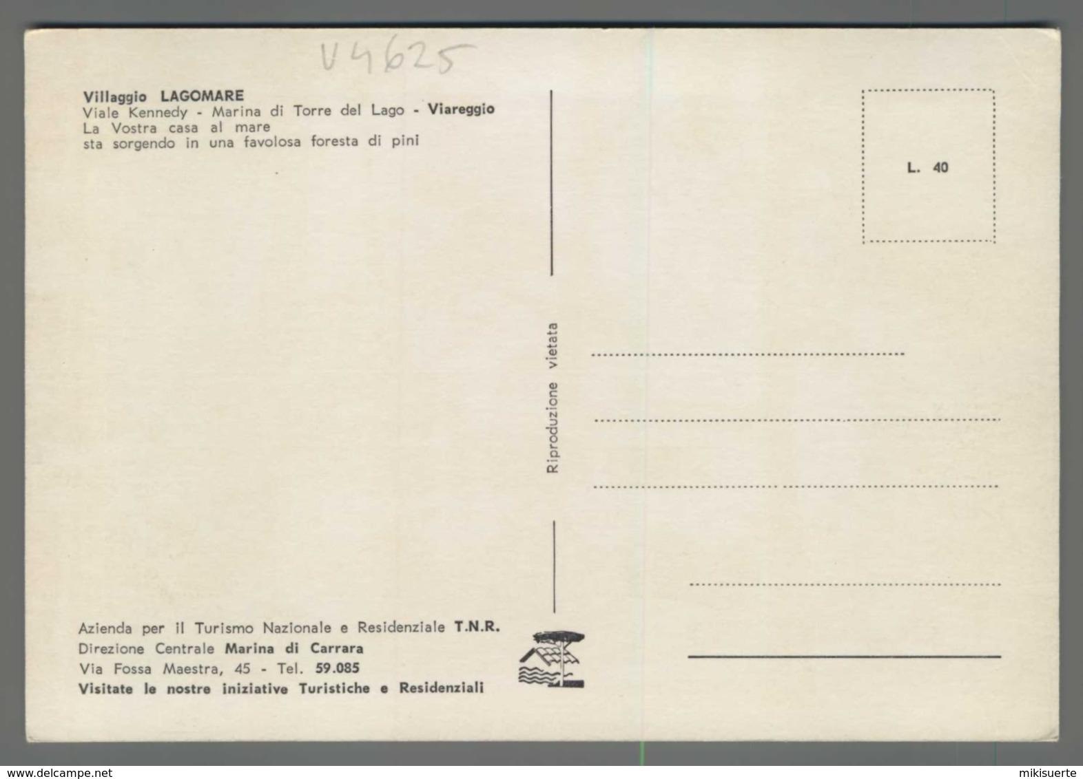 V4625 VIAREGGIO TORRE DEL LAGO VILLAGGIO LAGOMARE (m) - Viareggio