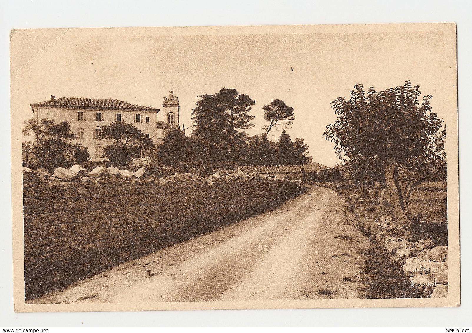 07 Lablachère. Notre Dame De Bonsecours, L'arrivée Au Sanctuaire Par La Route De Saint Alban. Carte Inédite (3396) - Frankreich