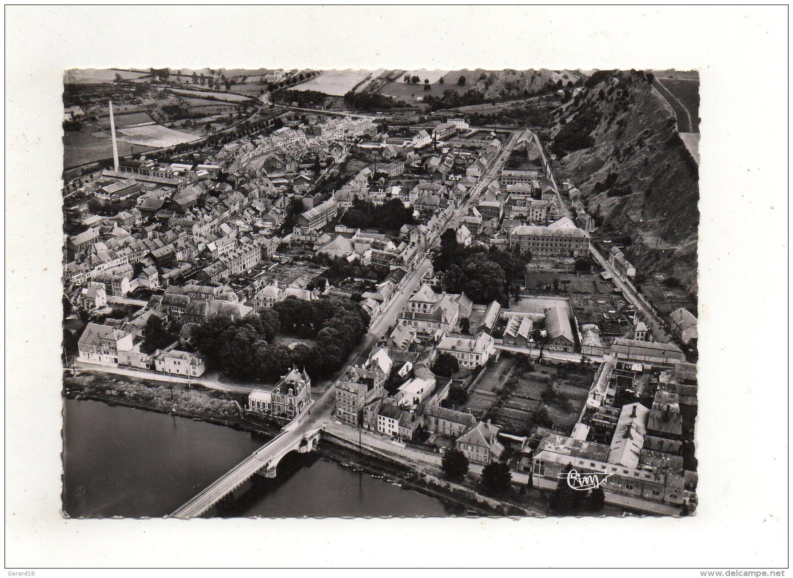 (08) GIVET -Vue Aérienne Sur Givet Notre-Dame -le Petit Givet 1965 - Givet