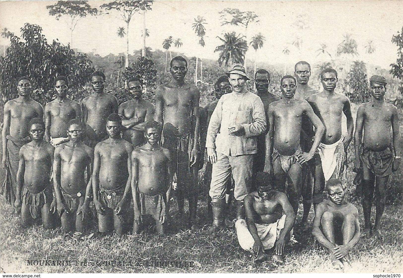 SENEGAL - CAMEROUN - Porteurs Allemands Durant La Grande Guerre - Gros Plan - Cameroun
