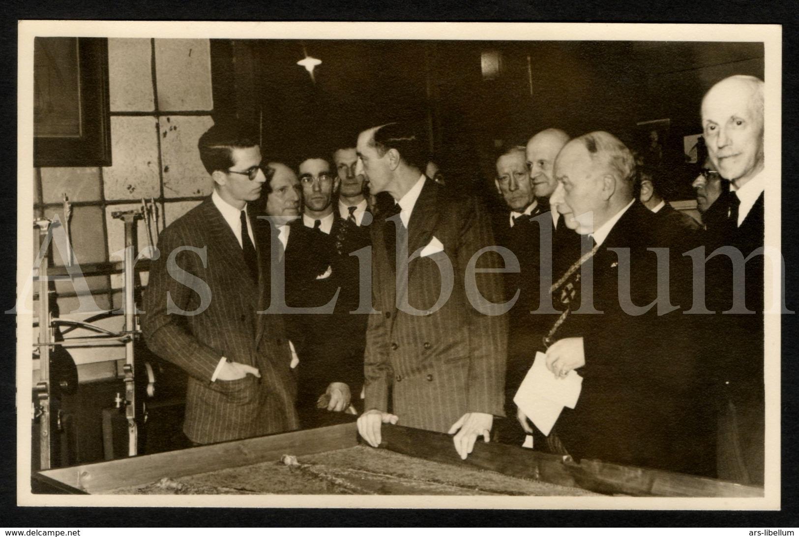 Photo Postcard / ROYALTY / Belgium / Belgique / Roi Baudouin / Koning Boudewijn / Gent / 1951 - Gent