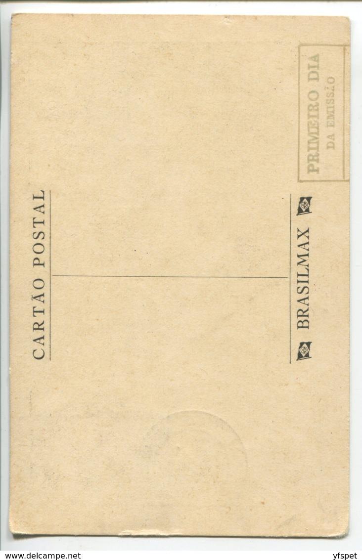 Aarao Reis And Plan Of Belo Horizonte - Maximum Card - Belo Horizonte
