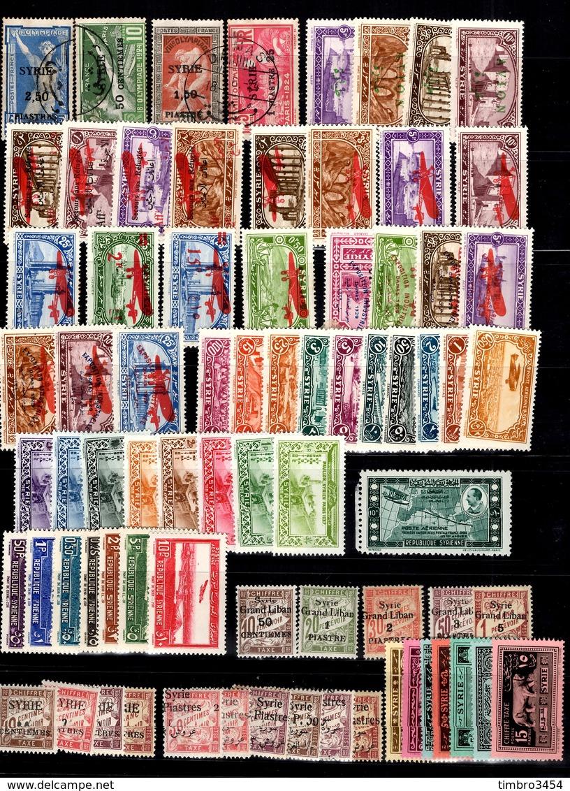 Syrie Française Belle Collection Neufs */oblitérés 1924/1940. Bonnes Valeurs. B/TB. A Saisir! - Syrie (1919-1945)